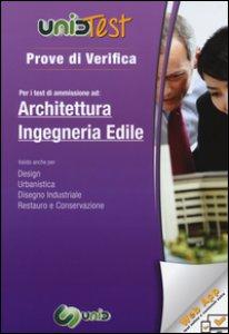 Copertina di 'Prove di verifica per i test di ammissione ad architettura e ingegenria edile. Con aggiornamento online'