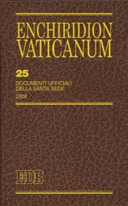 Copertina di 'Enchiridion Vaticanum. 25'