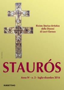 Copertina di 'Staurós. Rivista storico-artistica della diocesi di Locri-Gerace (2016)'