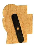 """Immagine di 'Magnete sagomato """"Croce, calice e ostia"""" - dimensioni 6x4,8 cm'"""