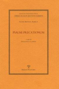 Copertina di 'Psalmi precationum'
