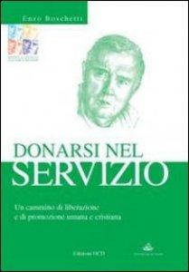 Copertina di 'Donarsi nel servizio. Un cammino di liberazione e di promozione umana e cristiana'