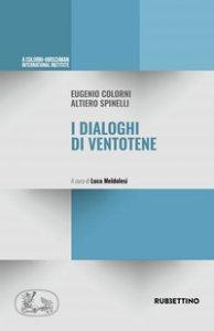 Copertina di 'I dialoghi di Ventotene'