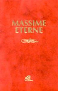 Copertina di 'Massime eterne'