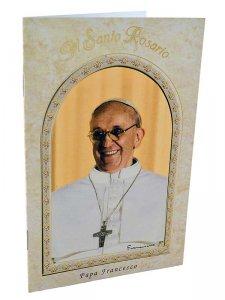 """Copertina di 'Libretto """"Il Santo Rosario"""" con papa Francesco'"""