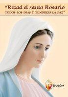 Pregate il santo rosario ogni giorno e avrete la pace. Ediz. spagnola