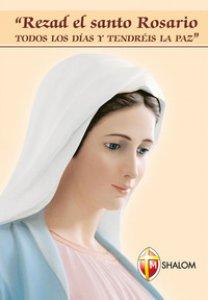 Copertina di 'Pregate il santo rosario ogni giorno e avrete la pace. Ediz. spagnola'