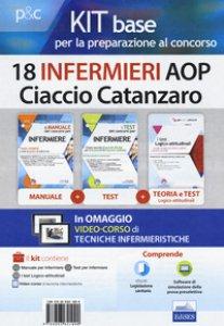 Copertina di 'Kit base per la preparazione al concorso 18 infermieri AOP Ciaccio Catanzaro. Con Contenuto digitale per download e accesso on line'