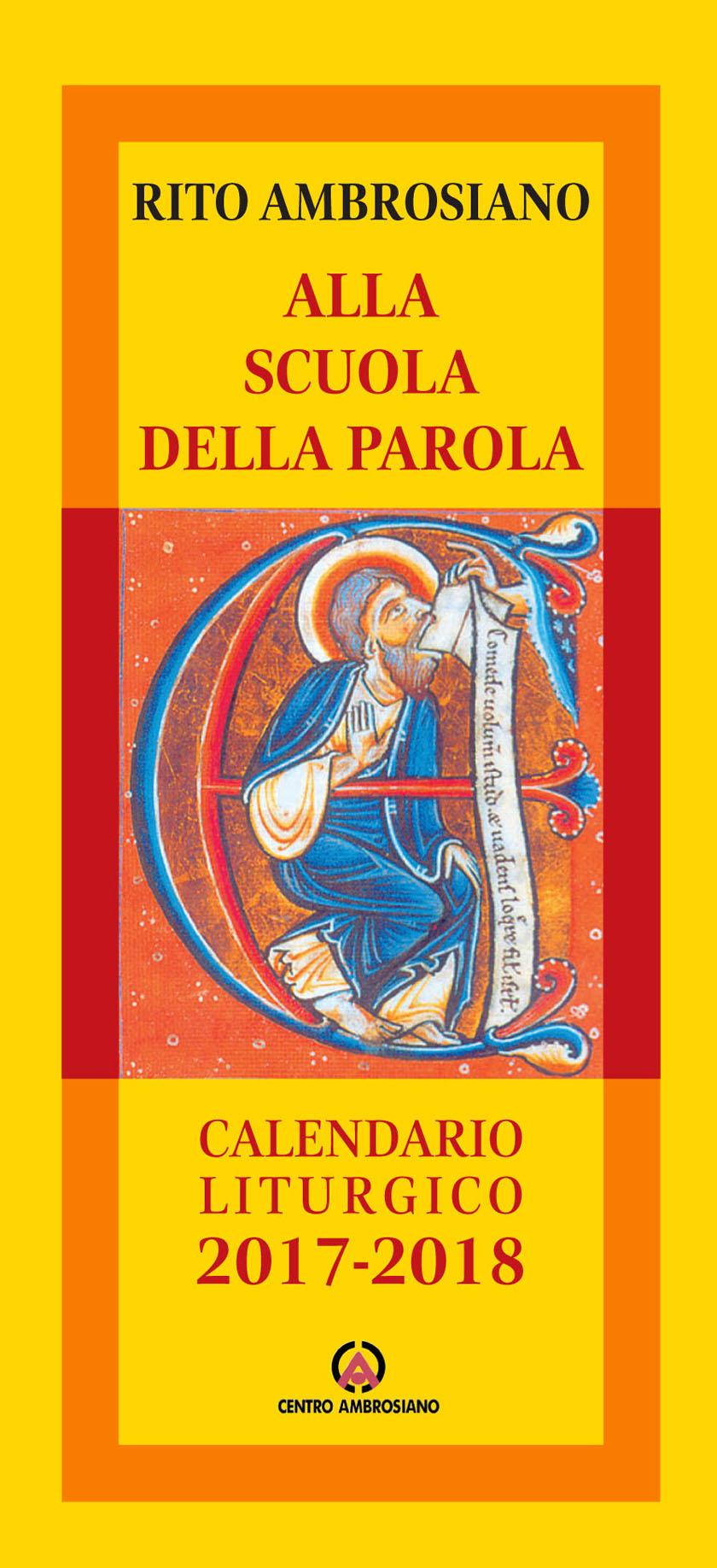 Calendario Liturgico 2020 2020.Calendario Ambrosiano Calendario 2020