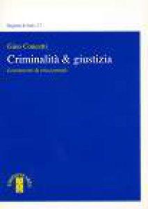 Copertina di 'Criminalità e giustizia'