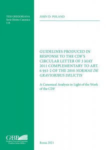 Copertina di 'Guidelines Produced in Response to the CDF'S Circular Letter of 3 May 2011 Complementary to Art. 6 §§1-2 of the 2010 Normae Gravioribus Delictis'