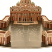 Immagine di 'CubicFun 3D - Basilica di San Pietro 56 Pezzi'