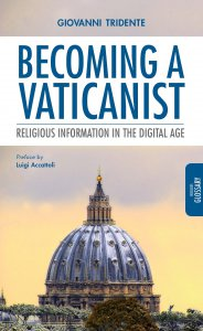 Copertina di 'Becoming a Vaticanist. Religious Information in the Digital Age.'