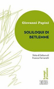 Copertina di 'Soliloqui di Betlemme'