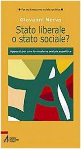 Copertina di 'Stato liberale o stato sociale?'
