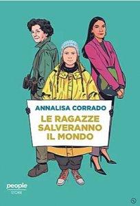 Copertina di 'Le ragazze salveranno il mondo'