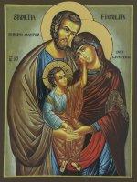 Immagine di 'Busta porta ulivo Domenica delle Palme  Sacra Famiglia'