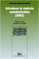 Istruzione in materia amministrativa (2005) - Conferenza Episcopale Italiana
