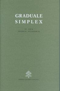 Copertina di 'Graduale simplex (in usum minorum ecclesiarum)'