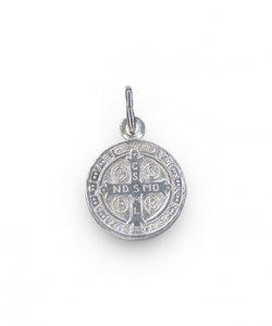 Copertina di 'Medaglia di san Benedetto in argento'