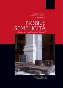 Copertina di 'Nobile semplicità'