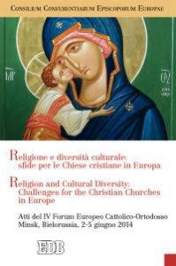 Copertina di 'Religione e diversità culturale: sfide per le Chiese cristiane in Europa'