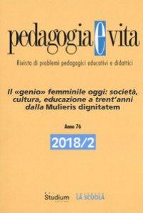 Copertina di 'Pedagogia e vita (2018)'