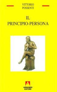 Copertina di 'Il principio-persona'