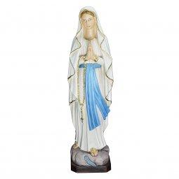 """Copertina di 'Statua in resina colorata """"Madonna di Lourdes""""- altezza 50 cm'"""