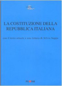 Copertina di 'La Costituzione della Repubblica italiana'