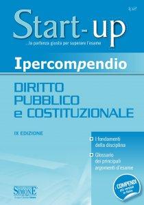Copertina di 'Ipercompendio Diritto Pubblico e Costituzionale'