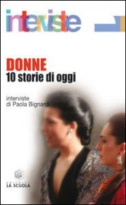 Copertina di 'Donne. 10 storie di oggi'