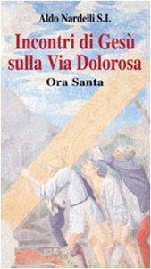 Copertina di 'Incontri di Gesù sulla Via Dolorosa. Ora Santa'