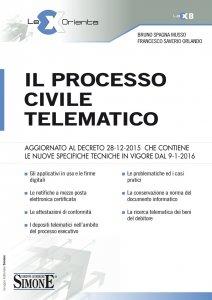 Copertina di 'Il Processo Civile Telematico'