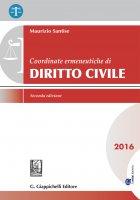Coordinate ermeneutiche di Diritto civile - Maurizio Santise