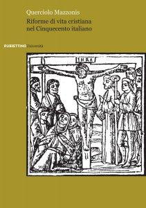 Copertina di 'Riforme di vita cristiana nel Cinquecento italiano'