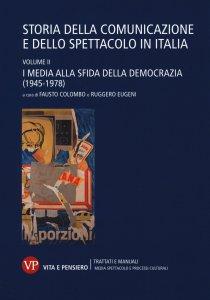Copertina di 'Storia della comunicazione e dello spettacolo in Italia'