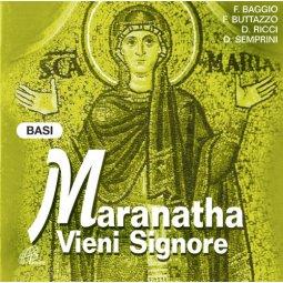 Copertina di 'Maranatha vieni Signore. CD - Basi musicali Canti per le celebrazioni di Avvento'