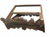 Immagine di 'Leggio da tavolo in legno stile settecentesco - dimensioni 35x28 cm'
