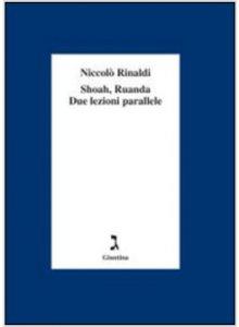 Copertina di 'Shoah, Ruanda due lezioni parallele'