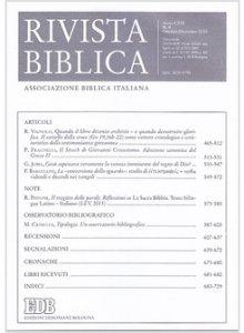 Copertina di 'Rivista biblica (2015) vol.4'