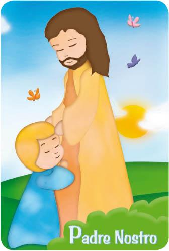 Card 39 padre nostro 39 in pvc italia confessione articoli - Nostro padre versione moderna ...