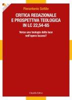 Critica redazionale e prospettiva teologica in Lc 22,54-65. - Pierantonio Sottile