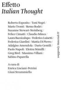Copertina di 'Effetto «italian thought»'