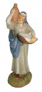 Copertina di 'Pastorella con brocca Linea Martino Landi - presepe da 16 cm'
