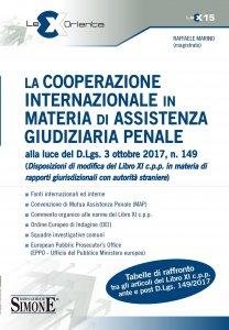 Copertina di 'La cooperazione internazionale in materia di assistenza giudiziaria penale'