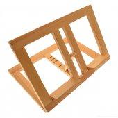 Leggio in legno chiaro stile moderno - dimensioni 21x31 cm