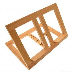 Copertina di 'Leggio in legno chiaro stile moderno - dimensioni 21x31 cm'
