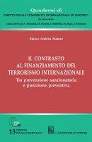 Il contrasto al finanziamento del terrorismo internazionale - Marco Andrea Manno
