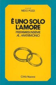 Copertina di 'È uno solo l'amore. Prepararsi insieme al matrimonio'
